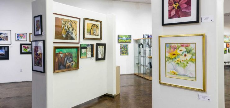 Interior of the Brandon Gallery